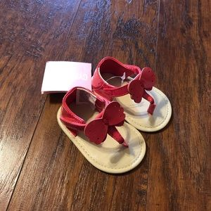 Gymboree Baby Pink Butterfly Sandals NEW!